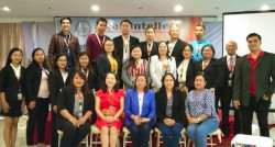 Participants of 1st IRCISES with Chairlady, Ms Julie Calma